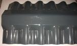 Hullámpala gerinc 160-as,250-es palához műanyag (1,40m)s